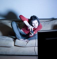 femme jeu vidéo