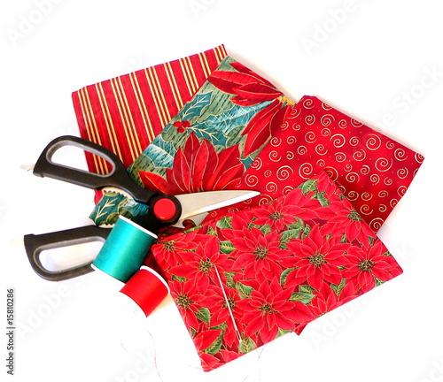 Sew fabric for Christmas - 15810286
