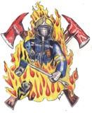 Feuerwehrmann Zeichnung