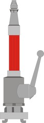 Strahlrohr Feuerwehr Zeichnung