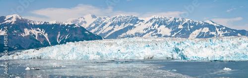Foto op Aluminium Gletsjers Hubbard Glacier, Alaska Panorama