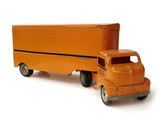 Antique Toy Semi Truck