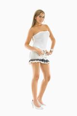 fashion woman standing