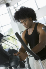 man at the gym - cardio