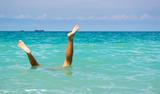 Stunt under water poster