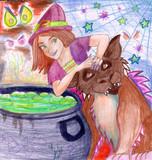 Witch's Brew on Haloween