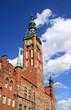 Rechtstädtisches Rathaus in Danzig