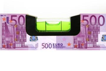500 Euro Wasserwaage