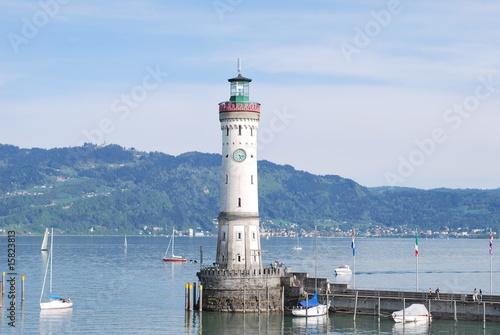 Fototapeten,bodensee,leuchtturm,wasser,boot