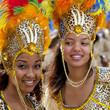 Danseuse de carnaval brésilien, Brazil.