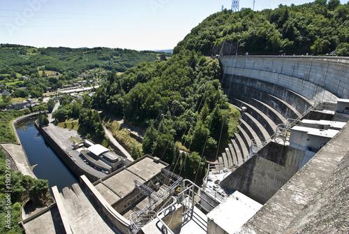 Foto op Canvas Dam barrage 10
