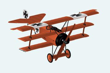 Fokker DRI im Flug