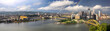 Panoramic View of the City of Pittsburgh