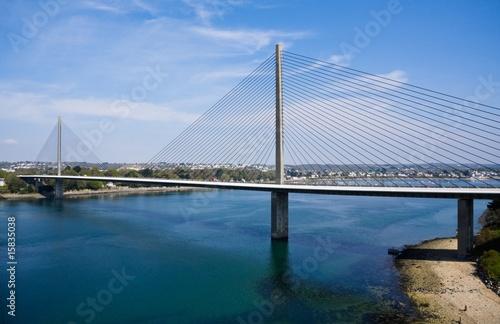 Papiers peints Pont Le pont de l'Iroise (Brest, Bretagne)