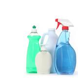 Detergent Bleach Window Spray and Soap poster