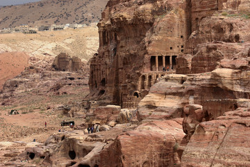 ancient Petra City of Jordan, Middle East
