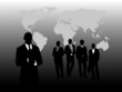 Silhouette of Business People