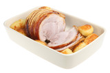 Roasted Pork Joint with Potatoes poster