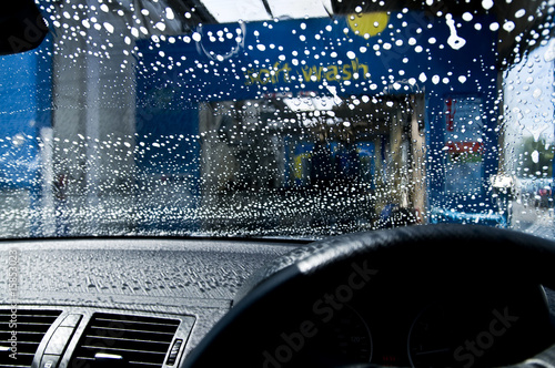 Car in car wash
