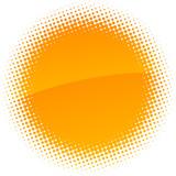 Fototapety Halftone sun