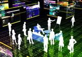 Virtual Business Meeting poster
