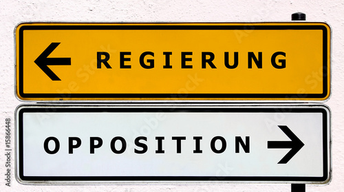 Regierung - Opposition