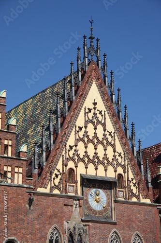 Rathaus Breslau © Luftbildfotograf