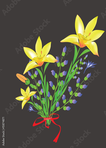 Bunch of lilies