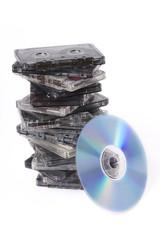 cassettes Vs disk