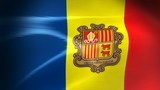 Andorran Flag - HD Loop