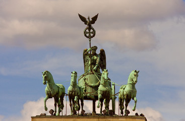 Quadriga, Brandenburger Tor, Berlin