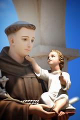 "Statue ""Saint Anthony of Padua"""