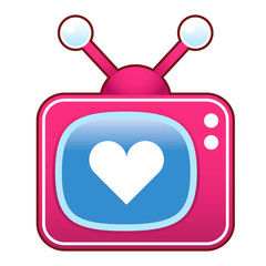Love on retro television