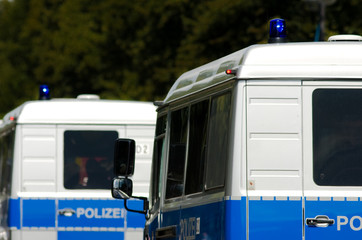 Polizei, Polizeiauto