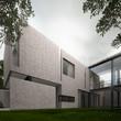 Modern concrete minimalist home