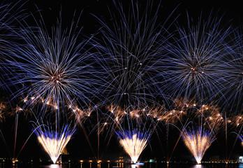 Fireworks Festa Redentore Venezia 2009