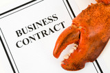 Lobster Claw and Business Contract