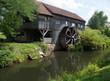 Ancien moulin et roue à aube