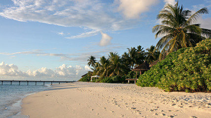 Western beach, Kandoludu, Maldives