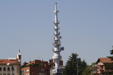 """El """"piruli"""" de Radio Television de Navarra, España."""