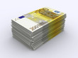 200 Euro Stapel