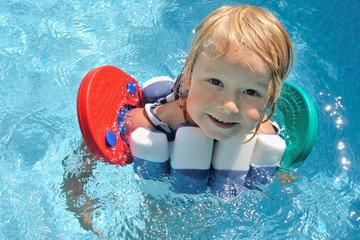 komm schwimmen!