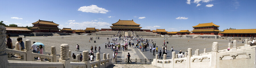 Forbidden City, Beijing, Panorama