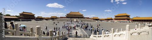 Foto op Aluminium Beijing Forbidden City, Beijing, Panorama