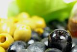 olives still life poster