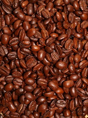 Coffes grain background