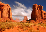 Fototapety Framed Landscape Image of Monument Valley
