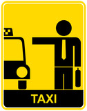 Fototapety Taxi - sign, symbol
