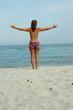 Quadro Freiheit am Strand