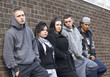 Gang Of Youths Leaning On Wall